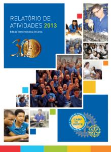 Relatório de 2013