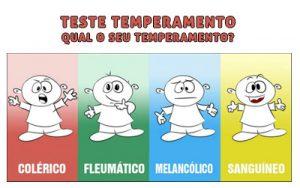 Os quatro tipos de temperamentos humanos
